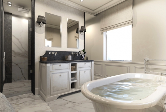 Villa Serena - Rendering Bathroom